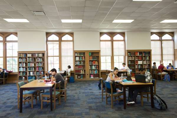 Latin American and Caribbean Collection Reading Room